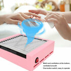 Nail Dust Suction Collector Salon Art Gel Polish Manicure Vacuum Cleaner Tool