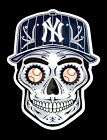 NY New York Yankees Sugar Skull Vinyl Sticker Dia de los Muertos on Ebay
