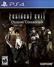 Resident Evil Origins Collection (Sony PlayStation 4, 2016) With Case