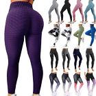 Kyпить Women Butt Lift Yoga Pants High Waist Leggings Ruched Workout Booty Trousers US на еВаy.соm