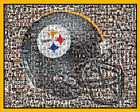 Pittsburgh Steelers Mosaic Print Art Designed Using over 100 of the Best Players $42.0 USD on eBay