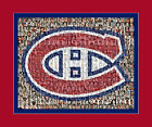 Montreal Canadiens Mosaic Print Art Using Over 75 Past and Present Players $40.0 USD on eBay