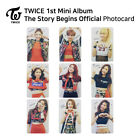 TWICE 1st mini album The Sotry Begins Official Photocard RED WHITE Version KPOP