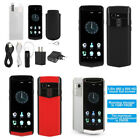 M17 Full Network 4G Mini PU Leather Luxury 1+16GB Smart Mobile Phone For Android
