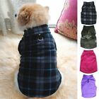 Pet Dogs Fleece Jumper Knitwear Winter Coat Puppy Chihuahua Sweater  Clothes us