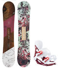 HEAD Spring Legacy 147cm Women's Snowboard+Matching Head Bindings NEW - 2020