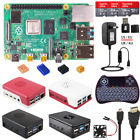 Raspberry Pi 4 Model B 4B 2/4/8GB RAM DIY Kit with ABS Case  5V 3A Power  HDMI