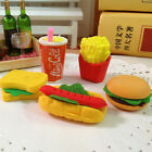 3pcs Food Sandwich Hamburger Shaped Rubber Eraser Kids Stationery Set $1.13  on eBay