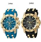 Invicta Men's Pro Diver Quartz Watch with Stainless-Steel & Silicone Blue/Black image