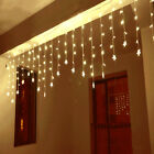 3.5m 96led Christmas Star Fairy Curtain String Lights Xmas Party Home Decoration
