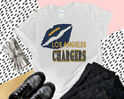 Nfl Los Angeles Chargers Graphic T-Shirt Women's Top Custom Gildan Handmade New $23.99 USD on eBay