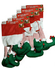 6 x Elf Dinner Table / Shelf Runner Festive Decoration Christmas Elves Dining