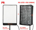 FALCON EYES RX-12TD 3000- 5600K LED Foldable Roll Up Photography Light + Softbox