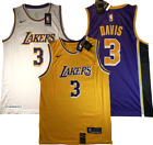 Anthony Davis Los Angeles Lakers #3 White/Purple/Gold Jersey NEW w/tags M L XL on eBay