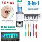 Kyпить UV Light Toothbrush Holder Sterilizer Cleaner Automatic Toothpaste Dispenser USA на еВаy.соm