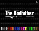 The Rodfather Funny Fishing Car Sticker Window Vinyl Decal Redneck Pole Fish