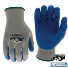 HEAVY DUTY POLYESTER LATEX PALM Safety Work Gloves Builders GRIP Gardening OCTO