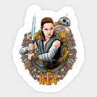 Rey Star Wars sticker for skateboard luggage laptop tumblers (a) $1.99 USD on eBay