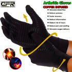 Copper Compression Gloves Arthritis Carpal Tunnel Hand Wrist Brace Support Warm