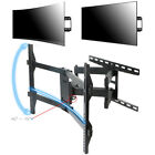 """TV Wall Mount Bracket Curved and Flat for 32-70"""" LED LCD OLED Articulating Arm"""