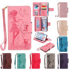 Leather Flip 9 Slots Card Stand Case Wallet Cover For Iphone 5s Se 6s 7 8 Plus X