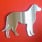 Labrador Standing Shaped Mirrors (Shatterproof Acrylic Mirrors, Several Sizes)