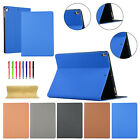 Slim Smart Flip Canvas Leather Shockproof Case Cover For iPad 7th Gen 10.2 2019