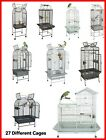 Liberta & Rainforest Medium Parrot Bird Aviary Cages -Various Designs and Sizes
