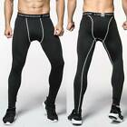 Men Compression Pants Base Under Layer Sports Legging Long Fitness Gym Quick Dry