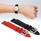 19mm PU Leather Universal Pin Buckle Watch Band Strap Replacement Accessory Part