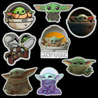 Star Wars The Mandalorian Baby Yoda Stickers Laptop Skateboard Home Decoration $2.89 USD on eBay