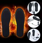 1 Pair USB Heated Foot Insoles Foot Pad Sock Pad Winter Mat For Outdoor Sports