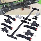 "Golf Cart Seat 42"" Belt Bracket Set Retractable Suitable For Golf Carts Car"
