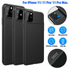 Ultra Thin Camera Shockproof Slide Case Cover For iPhone 11 Pro Max Protection