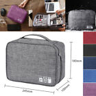 Waterproof Travel Data Cable Bag Storage Bags Daily Gadget Charger Zipper Packs