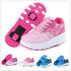 Kyпить Unisex Kids Adult Single Dual Auto Wheels Boys Girls Roller Skates Shoes Sneaker на еВаy.соm