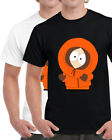 SOUTH PARK Kenny Cartoon TV Series Character Men's Black T-Shirt Size S-XL