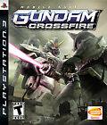 Mobile Suit Gundam: Crossfire (Sony PlayStation 3, 2006, Complete)