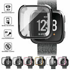 For Fitbit Versa Bands Fitness Designer Sleeve TPU Case Plating Protective Cover