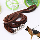 1.2cm Dog Leash Metal buckle Corrosion resistant Leather Dog Lead New Hot Latest