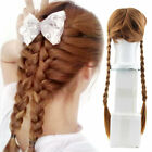 NEW FROZEN ELSA ANNA HAIR WIG BRAID COSTUME FOR KIDS ADULT GIRL PARTY COSPLAY ED