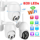 1080P 8/20 Lights IP Camera Outdoor Wireless Wifi Night Vision Camera for icsee