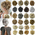 100% Natural Human Curly Messy Bun Hair Piece Scrunchie Updo Hair Ties Wigs for sale  Shipping to South Africa
