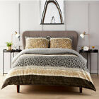 Used, Zara Duvet Cover Single Double Super King Size New Leopard Stripes Design Duvet for sale  Shipping to Ireland