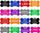 Kyпить Bone Shape Pet ID Tags, Dog Tags, Premium Aluminum, 8 Colors to Choose на еВаy.соm