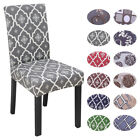 1-6X Elastic Dining Chair Cover Stretch Home Slipcover Seat Protector Anti-Dust