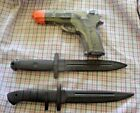 Rubber Training Gun Dummy Non Firing & Rubber Knives *Your Choice *