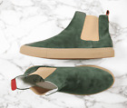 (US 19, 20) Del Toro Boots in Forest Green