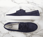 (US 16) Del Toro Sneakers in Blue Suede