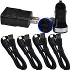 For Motor G7 Play Plus Power LG G6 G5 Car Adapter Wall Charger USB-C Cable Cord